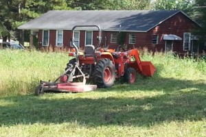 Photo #1: Clyde's Tractor Services