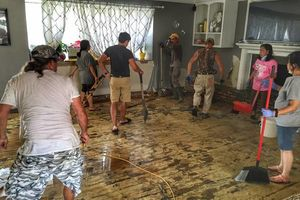 Photo #1: FLOOD DAMAGE CLEAN-UP AND RESTORATION
