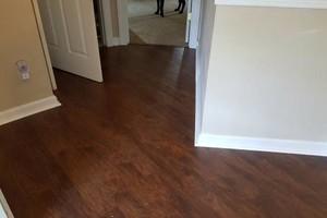 Photo #23: Laminate flooring installation