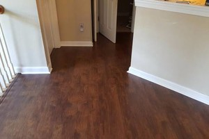 Photo #21: Laminate flooring installation