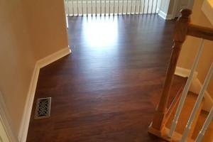 Photo #20: Laminate flooring installation