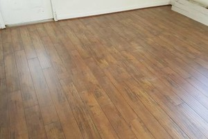 Photo #18: Laminate flooring installation