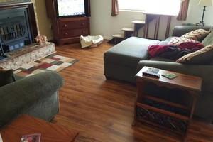 Photo #17: Laminate flooring installation