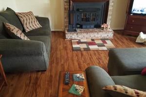 Photo #16: Laminate flooring installation