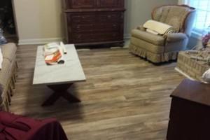 Photo #15: Laminate flooring installation