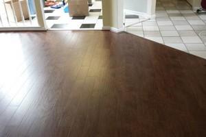 Photo #14: Laminate flooring installation