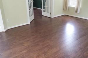 Photo #12: Laminate flooring installation