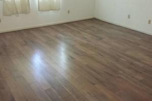 Photo #11: Laminate flooring installation
