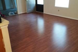 Photo #9: Laminate flooring installation
