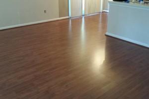 Photo #8: Laminate flooring installation