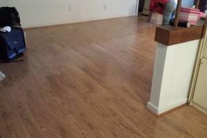 Photo #4: Laminate flooring installation