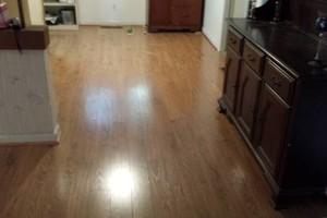 Photo #3: Laminate flooring installation