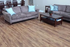 Photo #2: Laminate flooring installation