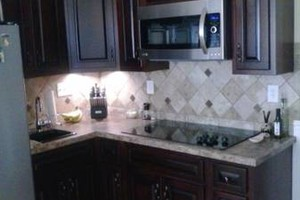 Photo #24: Kitchen cabinet refacing