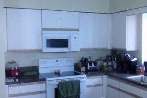 Photo #22: Kitchen cabinet refacing