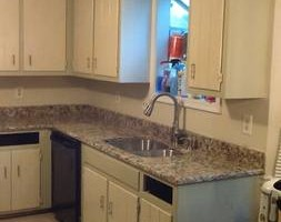 Photo #18: Kitchen cabinet refacing