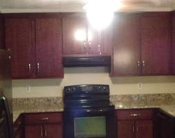 Photo #15: Kitchen cabinet refacing