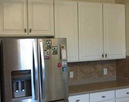Photo #12: Kitchen cabinet refacing