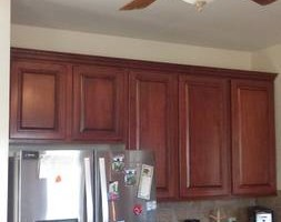 Photo #11: Kitchen cabinet refacing