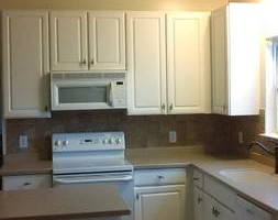 Photo #10: Kitchen cabinet refacing