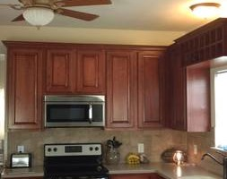 Photo #9: Kitchen cabinet refacing