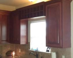 Photo #7: Kitchen cabinet refacing