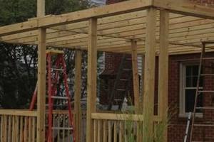 Photo #14: BUILD SCREEN PORCHES, SHEDS, DECKS