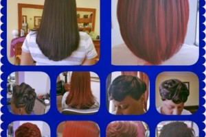 Photo #1: Open Sunday! Blowouts, Cuts, Color, Extension