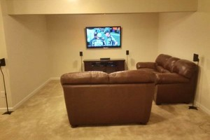 Photo #1: Wall Mounted TV INSTALLATIONS