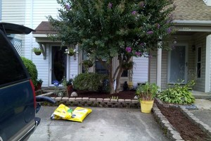Photo #5: Men at the mission-yard work/painting