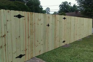Photo #3: Fence Up