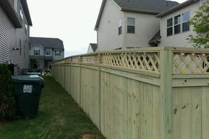 Photo #2: Fence Up