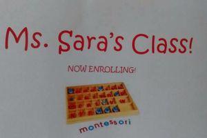Photo #1: Ms Sara's Class. In-home Montessori preschool