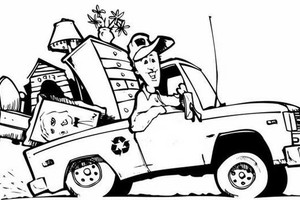 Photo #1: Odd Job - Hauling / Landfill Trips...