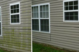 Photo #3: Pressure Washing Done Right. Any one Story $100