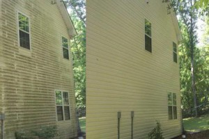 Photo #2: Pressure Washing Done Right. Any one Story $100
