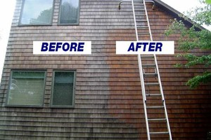Photo #5: PROFESSIONAL PRESSURE WASHING / WINDOW CLEANING
