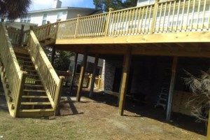Photo #1: CHARLESTON FENCE AND DECK CO..