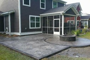 Photo #3: Beautiful FICHTER Concrete that will last!