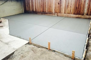 Photo #1: CONCRETE PATIOS, DRIVEWAYS, FOUNDATIONS