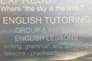 Photo #1: English tutoring