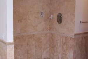 Photo #24: Tile & Stone Backsplashes to Walk in Showers