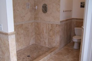 Photo #2: Tile & Stone Backsplashes to Walk in Showers
