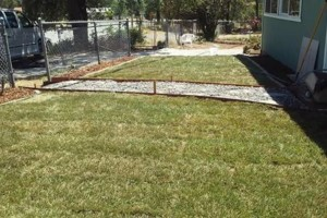 Photo #3: We do yard clean up and landscape install