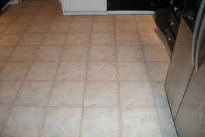 Photo #1: Grout Cleaning and Color Sealing