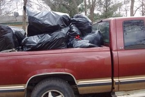 Photo #2: Lawn leaf clean up hauling and more
