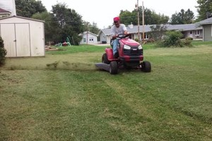 Photo #1: Lawn leaf clean up hauling and more