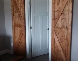 Photo #5: Barn doors & tracking