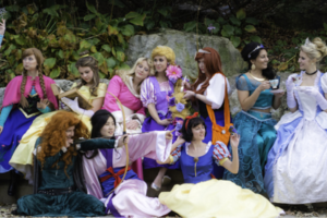 Photo #1: Real Princesses!
