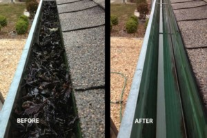 Photo #1: Mercer Gutter cleaning